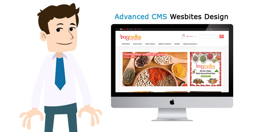 Advanced CMS Wesbites