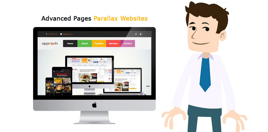 Advanced Pages Parallax Websites