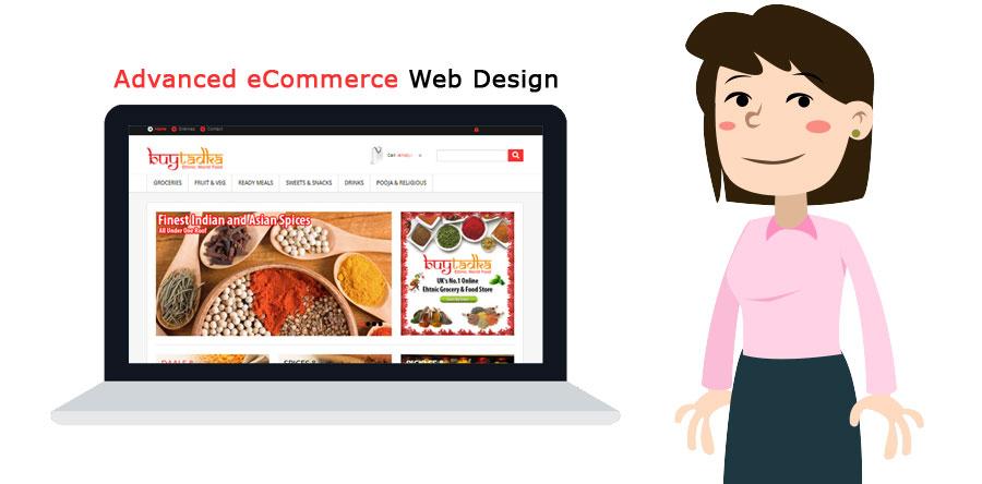 Advanced eCommerce Web Design